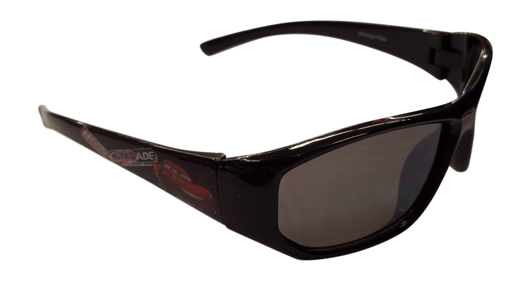 Disney Cars Black Nitro Sunglasses - 100% UVA & UVB Protection