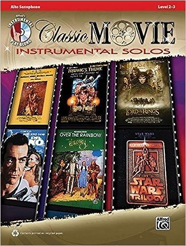 Classic Movie Instrumental Solos: Alto Sax, Book & CD (Pop Instrumental Solo Series) (2010-05-01)