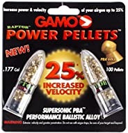 Gamo 632264454 PBA Raptor Pellets Performance Ballistic Alloy .177 Caliber Round Nose, 100 Count