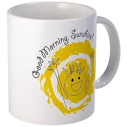 Amazoncom Cafepress Good Morning Sunshine Mug Unique Coffee