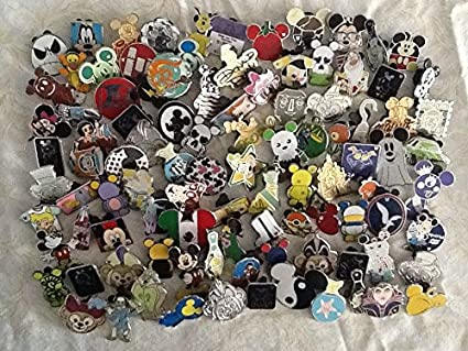 Disney Pins lot of 50 Free Shipping US Seller 100/% Tradable NO DOUBLES!