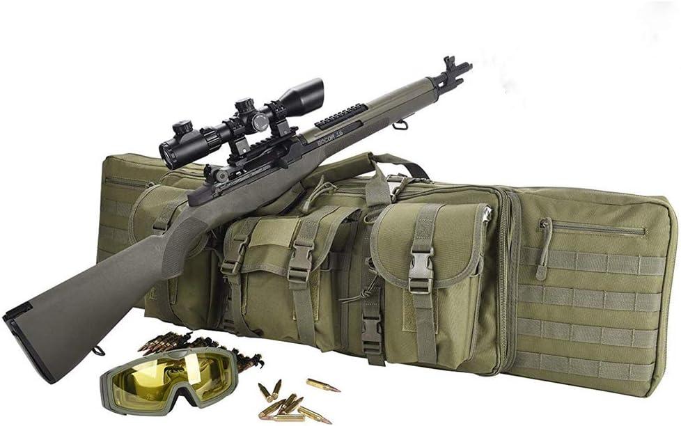 TBDLG Bolsa de Rifle, Caja de Pistola, Bolsa de Pistola de Rifle, Bolsa de Almacenamiento de Tiro,120CM