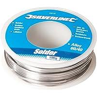 Silverline AS15 Bobine d'étain à soudure 100 g