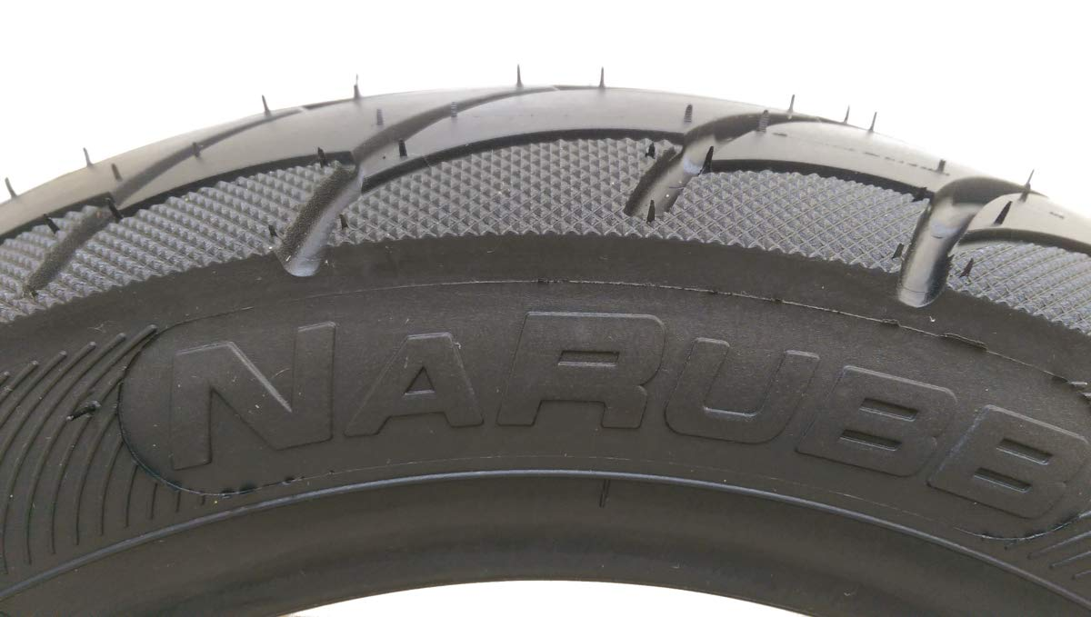 NaRubb 120//70-12 S1301 Scooter Tyres 51L 4PR TL New Moped Scooter Tyres