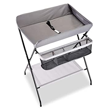 Great Folding Baby Changing Table Children Portable Diaper Station, Girl Boy  Nursery Organizer For Infant Travel