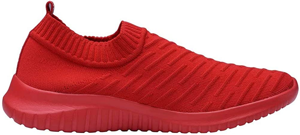 Casual Breathable Athletic Tennis Slip on Sneakers LANCROP Womens Walking Shoes