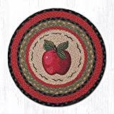 15.5in. x 15.5in. Apple Round Chair Pad - Set of 4