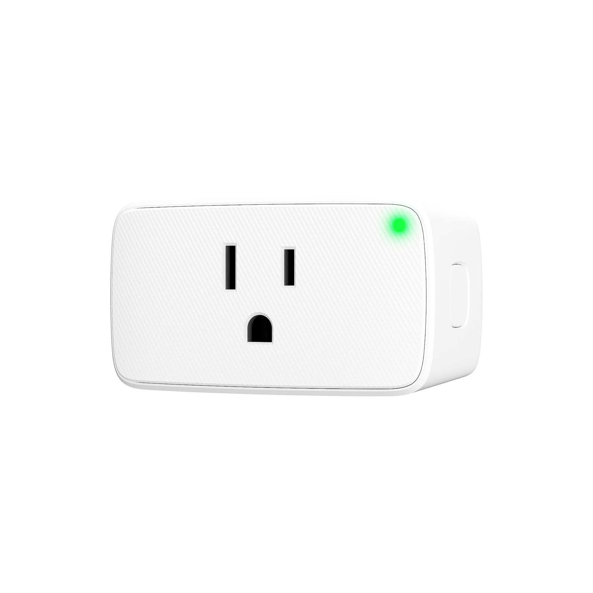 VOCOlinc Smart Plug, Wi-Fi Mini Outlet Socket, Works with HomeKit (iOS12 or +), Alexa & Google Assistant, Timer, No Hub Required, 15A 1800W, 2.4GHz, Smartbar (1 Pack)