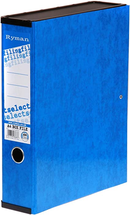 Ryman Select Box File A4 Pack of 10