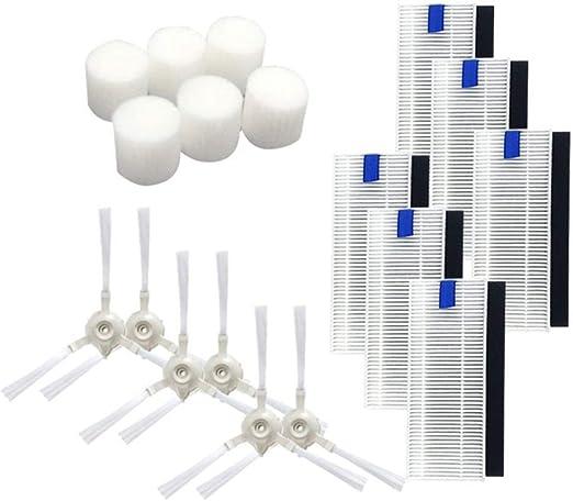 360 fregaderos para robot S6 Núcleo de agua PC + esponja material ...