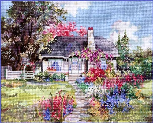 Cottage Marty Bell (Pegasus Originals Idaho Hideaway by Marty Bell Counted Cross Stitch Chartpack)