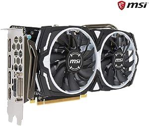 2018 Newest MSI Video Card Radeon RX 570 DirectX 12 - 8GB 256-Bit GDDR5 - PCI Express x16 - HDCP Ready CrossFireX Support ATX Video Card