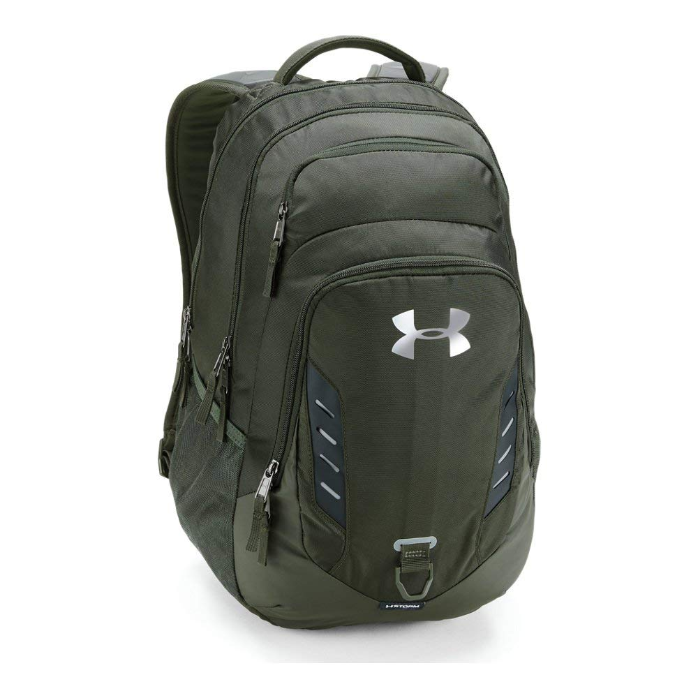 Under Armour Gameday Backpack, Artillery Green (357)/Silver, One Size