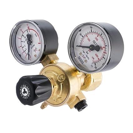 Oxyturbo - Reductor de presión para soldadura de mezcla de CO2y argó
