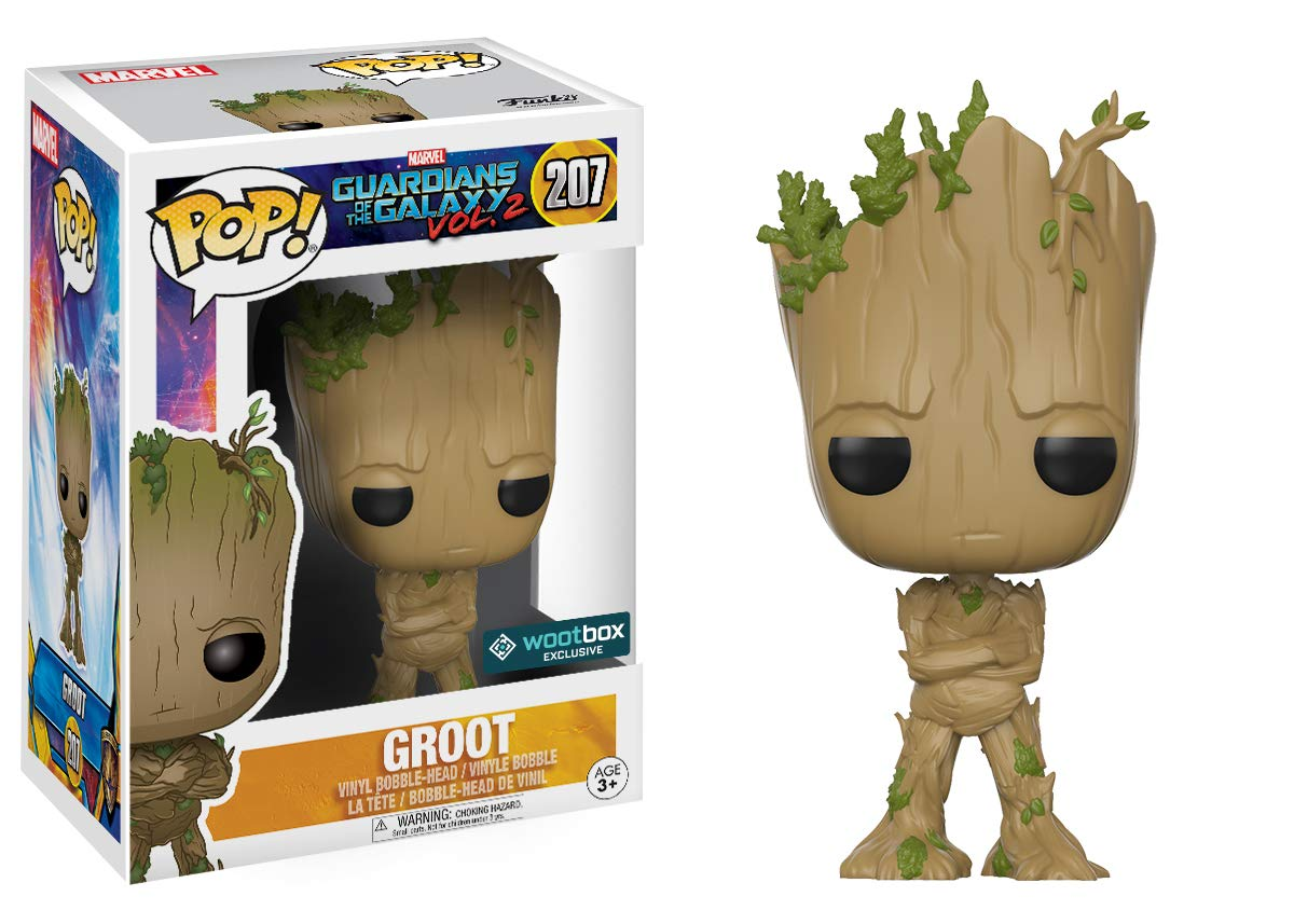 Funko Pop! Movies: Guardians of The Galaxy Vol. 2 - Adolescent Groot  Exclusive Action Figure