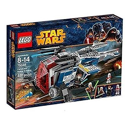 Star Wars Lego 75046 Coruscant Police Gunship: Toys & Games