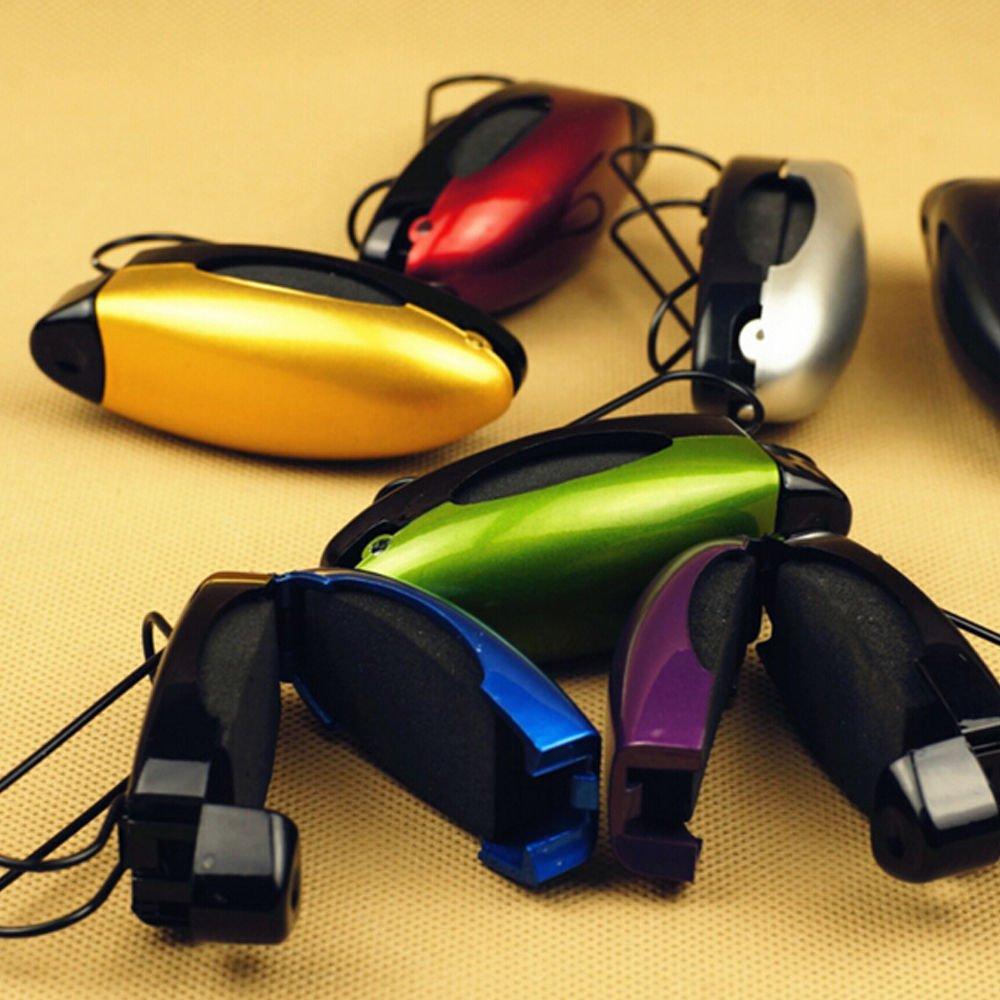 Rot KESOTO Universal Brillenhalter Auto Brillenhalterung Sonnenbrillenhalterung f/ür Brille Schutzbrille Lesebrille