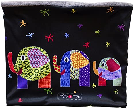 Tris&Ton bufanda para bebé niño niña invierno, braga de cuello ...