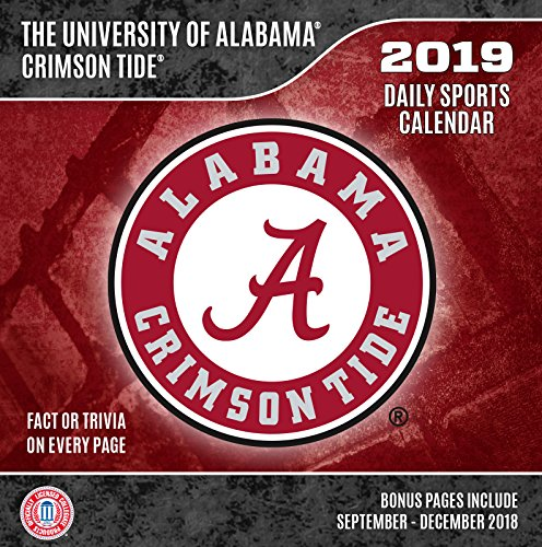 Turner 1 Sport Alabama Crimson Tide 2019 Box Calendar Desk Calendar (19998051370)