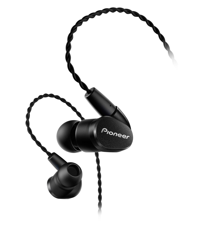 Pioneer High Performance Hi-Res Balanced Wired In-Ear Headphones, Black SE-CH5BL(K)