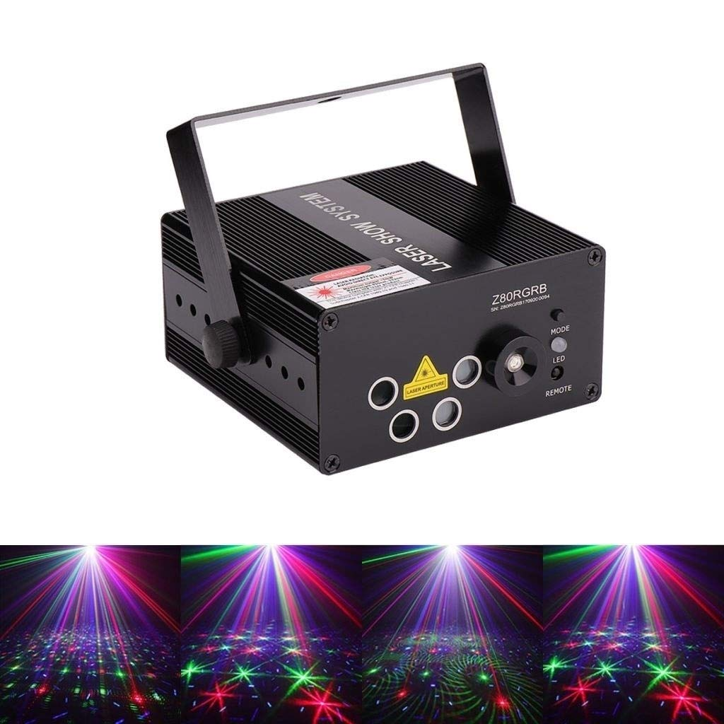 Control remoto LED Disco Luces de luz Etapa Luces DJ Disco Ball ...