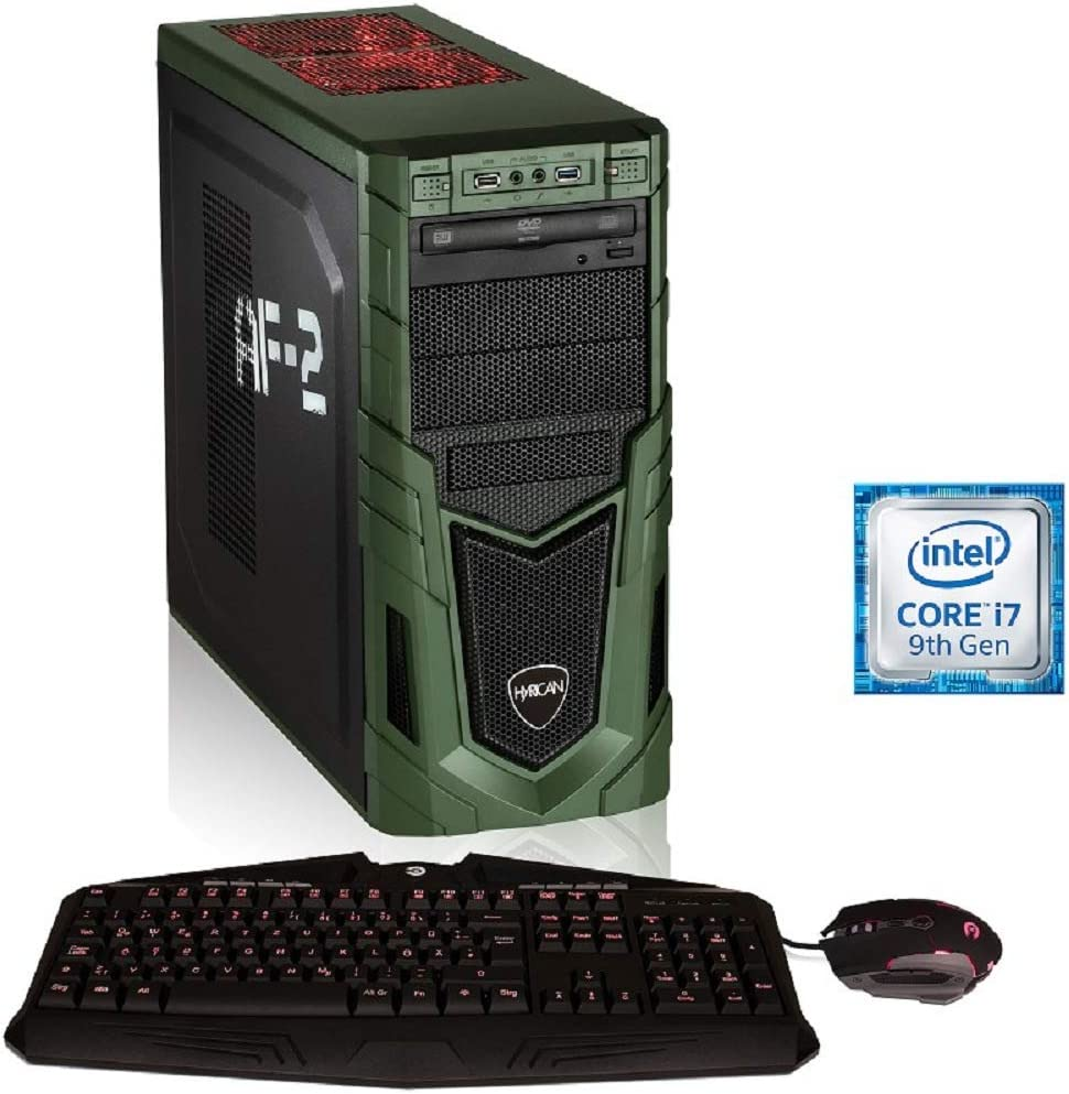 Hyrican Military PCK06424 Gaming-PC [i7-9700F / 16GB RAM / 480GB SSD / 1TB HDD/RTX 2060 Super/Intel H310 / Win10]: Amazon.es: Electrónica