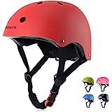 BURSUN Kids Bike Helmet CPSC Certified Ventilation & Adjustable Toddler Helmet for Ages 3-8 Kids Boys Girls Multi-Sport…