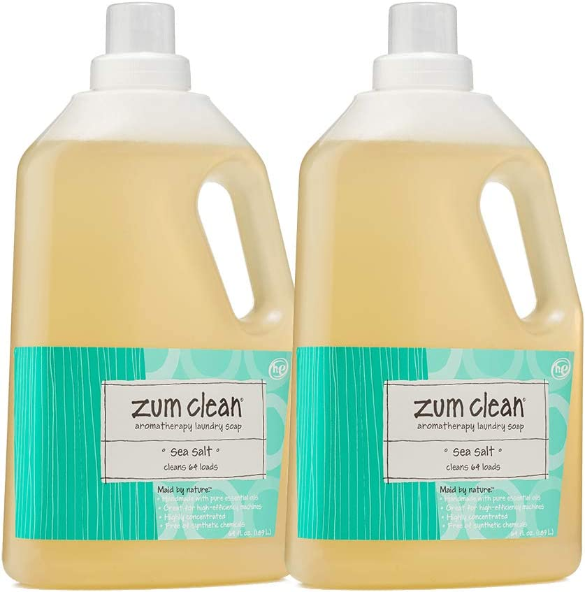 Zum Sea Salt Clean Laundry Soap 64 Oz