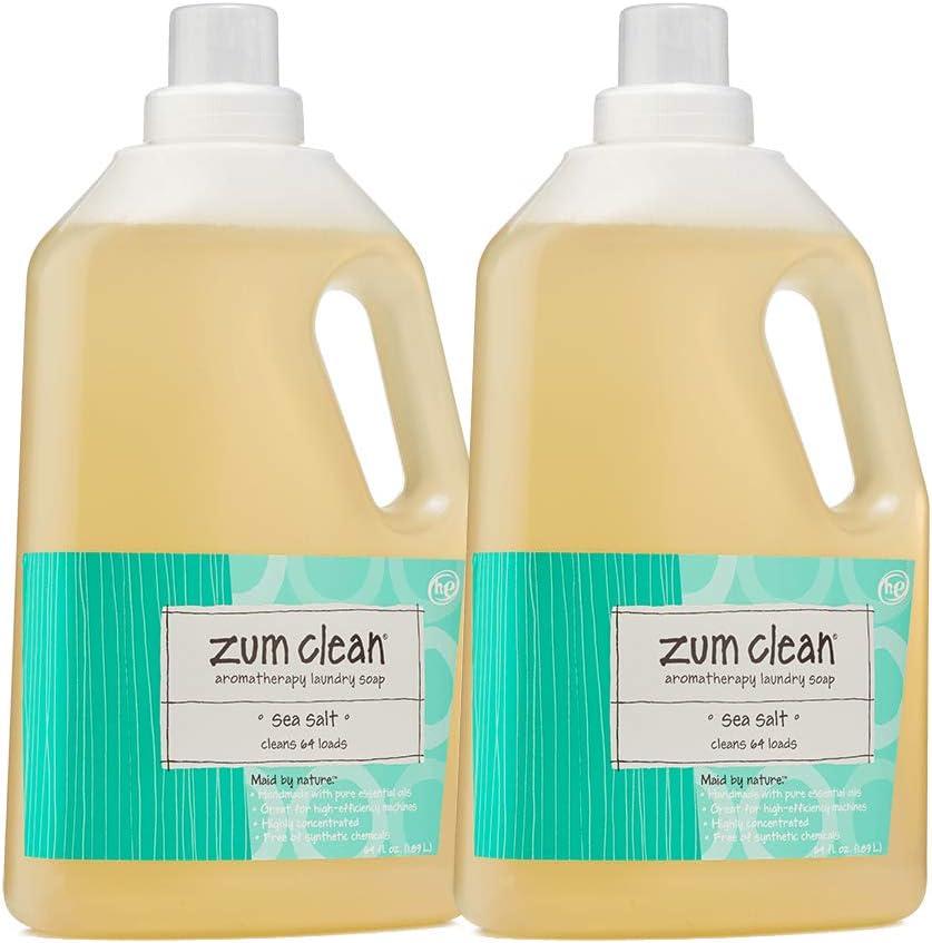 Zum Sea Salt Clean Laundry Soap 64 Oz