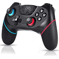 Bufan Controlador Inalámbrico para Nintendo Switch, Switch Console Controlador Bluetooth con Turbo, Eje de Giroscopio y…