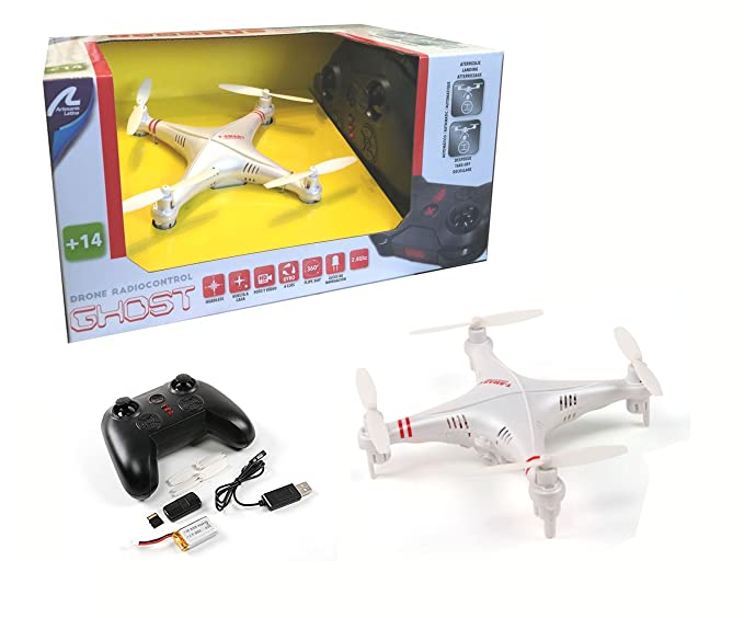 Drone radiocontrol con cámara Ghost. Orientacion automatica ...