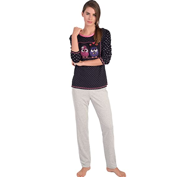 Amazon.com: Massana - Women Pyjamas Winter Massana