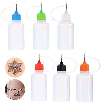 Amazon Com Henna Tattoo Applicator Bottle Needle Tip Glue For Henna
