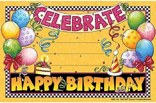 Teacher Created Resources Happy Birthday Awards from Mary Engelbreit 4507