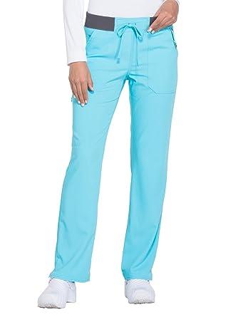 3bf836d2fcf Dickies Xtreme Stretch Women's Drawstring Straight Leg Scrub Pant  XXXX-Large ICY Turquoise