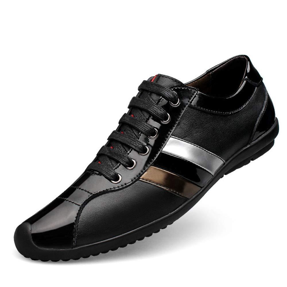 schuheDQ Breathable beiläufige der Bequeme Größe der beiläufige Männer der Cowboy-Schuhe Männer Größe 23.5cm-28.5cm Schwarze Schuhe Freizeit ff9401