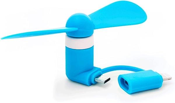 iMagic - Ventilador para móvil Azul: Amazon.es: Electrónica
