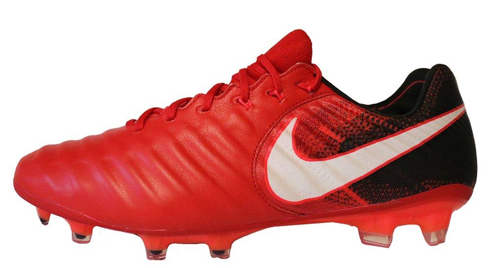 newest fc804 239ac Nike Tiempo Legend VIII FG Men's Soccer Firm Ground Cleats (9.5 D(M) US,  University Red/Black/Bright Crimson/White)