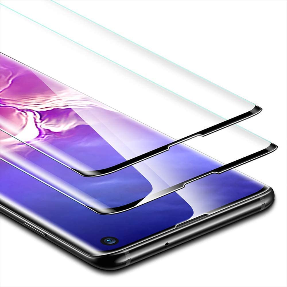 Keklle Galaxy Note 8 Screen Protector 2-Pack Case Friendly,Anti-Scratch,Anti-Bubble,Anti-Fingerprint,High Definition 3D Curved Tempered Glass Film Suitable for Samsung Note 8 Black