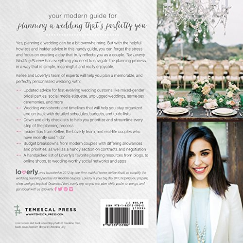 Loverly Wedding Planner The Modern Couples Guide To Simplified Wedding Planning
