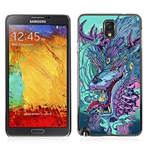 YOYOSHOP [Japanese Dragon Monster] Samsung Galaxy Note 3 Case