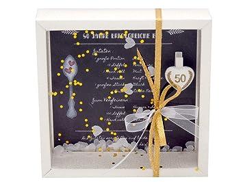 Zauberdeko Geldgeschenk Verpackung Goldhochzeit Gutschein Geschenk Goldene Hochzeit Rezept Für 50 Jahre Ehe
