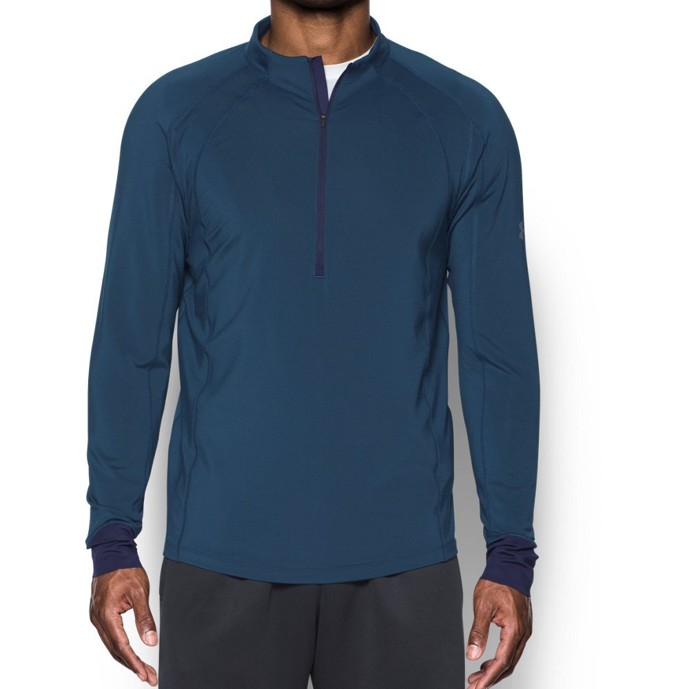 Under Armour ColdGear Reactor Run ½ Zip SM True Ink