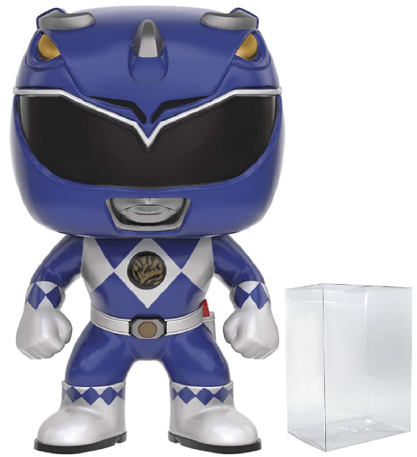"""Mighty Morphin Power Rangers-Blue ranger 3.75/"""" FIGURA IN VINILE POP TV FUNKO"""