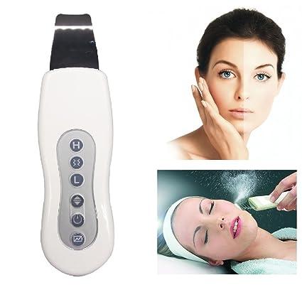 Limpiador facial ultrasónico, ideal para hombres y mujeres