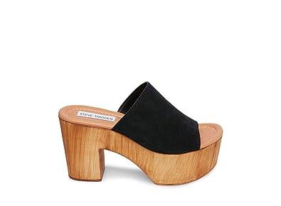 64c180762b7 Amazon.com | Steve Madden Women's Playdate Heeled Sandal, Black ...