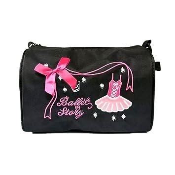 06819ec4331 Hougood Bolsa de Danza para niñas Bordado Bandolera de Nailon Impermeable  Ballet Bolsa de Baile Bolsa de Deporte
