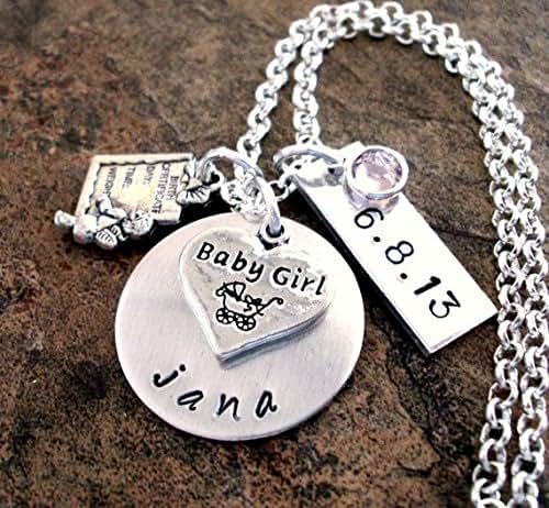 New baby jewelry new mom jewelry birth for Baby jewelry near me