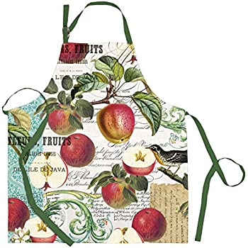 Michel Design Works Cotton Chef Apron, Sweet Apple