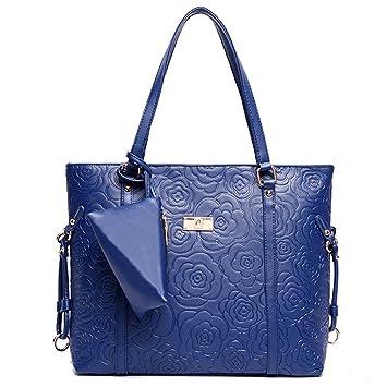 efd12f7c6c8 G-AVERIL - Bolso mochila para mujer azul marino  Amazon.es  Equipaje